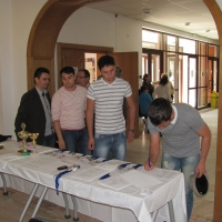 Registration of participants